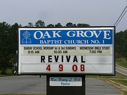 Oak Grove Baptist Church #1