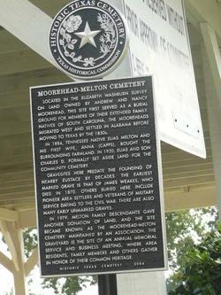 Moorehead-Melton Cemetery