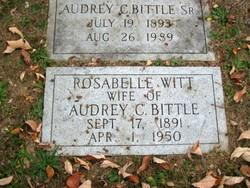 Audrey Conner Bittle, Sr