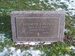 Kenneth E Brown