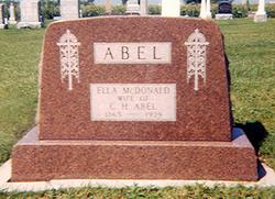 Ella <i>McDonald</i> Abel