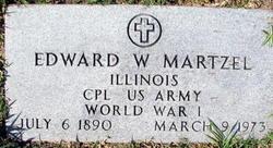 Corp Edward W Martzel