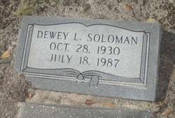 Dewey Lee Solomon