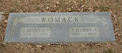Mary Bell <i>Daniel</i> Womack