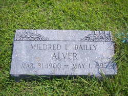 Mildred L. <i>Bailey</i> Alver