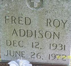 Fred Roy Addison