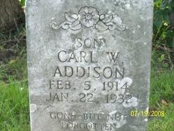 Carl W Addison