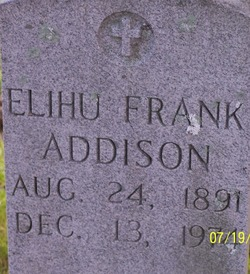 Elihu Frank Addison