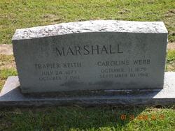 Caroline <i>Webb</i> Marshall