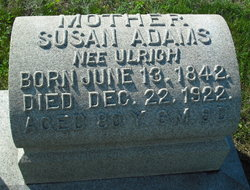 Susan <i>Ulrich</i> Adams