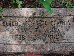 Claude Coolidge Coatney
