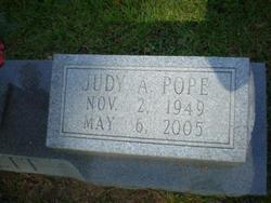 Judy Ann <i>Pope</i> Barrett