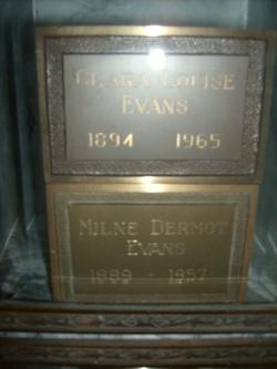 Clara Louise Evans