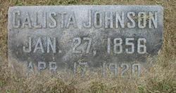 Calista Johnson