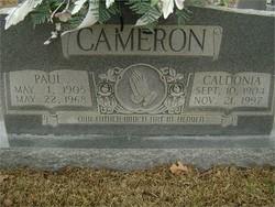 Caldonia <i>Sanders</i> Cameron