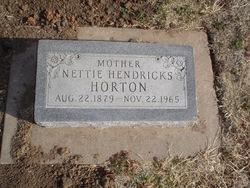 Jeanette Maude Nettie <i>Robinson</i> Horton