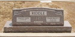 Dorothy Jean <i>Askew</i> Riddle