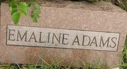 Martha Emaline Mattie <i>Pierce</i> Adams