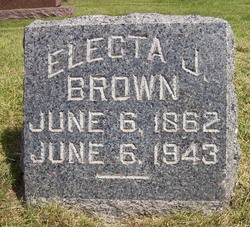 Electa Jerusha <i>Doolittle</i> Brown