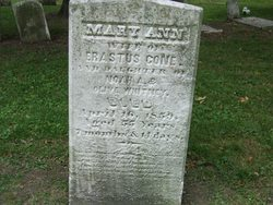 Mary Ann <i>Whitney</i> Cone