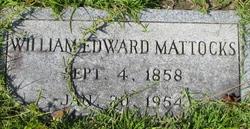 William Edward Mattocks