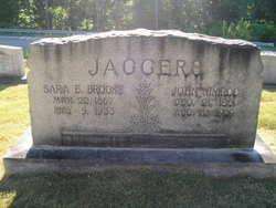 Sarah E <i>Brooks</i> Jaggers