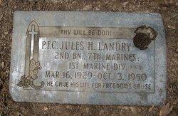 PFC Jules Herman Landry