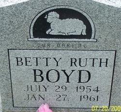 Betty Ruth Boyd
