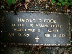 Harvey D Cook