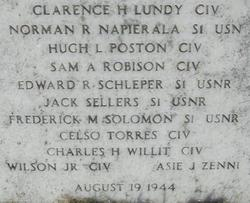Capt Clarence Hudson Lundy