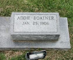 Addie Boatner