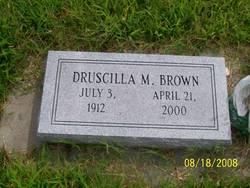 Druscilla M. Brown