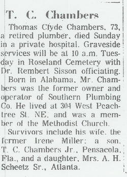 Thomas Clyde Chambers