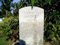 Lewis Olan Lambeth