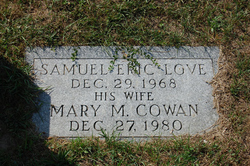 Mary <i>Cowan</i> Love