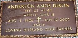 Anderson Amos Andy Dixon