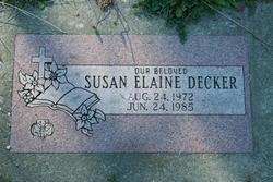 Susan Elaine Decker