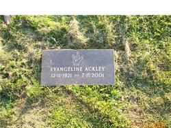 Evangeline <i>Smith</i> Ackley