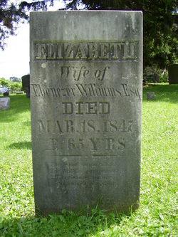 Elizabeth <i>Beckwith</i> Williams