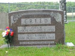 Ollie Elizabeth <i>Davis</i> Creed