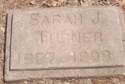 Sarah J. Sally <i>Tock</i> Turner
