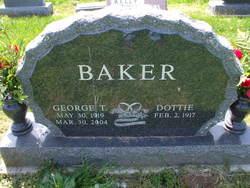 Dorothy M Dottie <i>Eaves</i> Baker