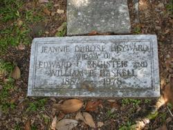 Jeannie Dubose <i>Heyward</i> Haskell