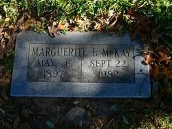 Marguerite L. <i>Parker</i> McKay
