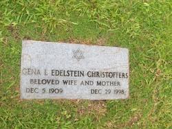 Gena L <i>Edelstein</i> Christoffers
