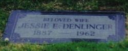 Jessie E <i>Butler</i> Denlinger