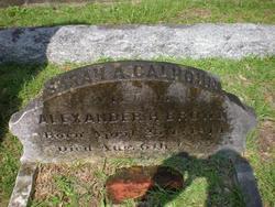 Sarah Anna <i>Calhoun</i> Brown