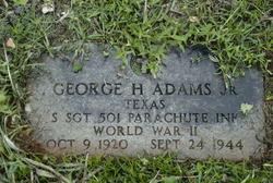 George H. Adams, Jr