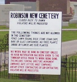 Robinson New Cemetery
