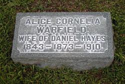 Alice Cornelia <i>Warfield</i> Hayes